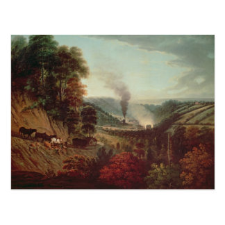 Morning view of Coalbrookdale, 1777 Post Card