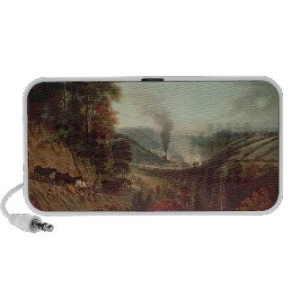 Morning view of Coalbrookdale, 1777 Speaker