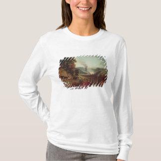 Morning view of Coalbrookdale, 1777 T-Shirt