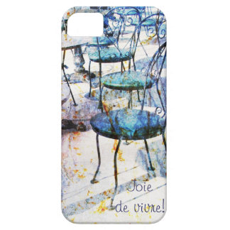 Morning vintage french cafe iPhone SE/5/5s case