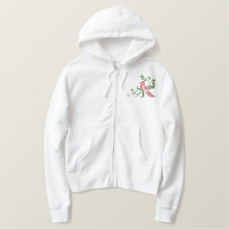 Morning Visit Embroidered Hoodie