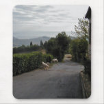 Morning Walk In San Gimignano Mouse Pad