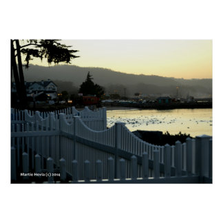 Morning Waves of Fences III Poster