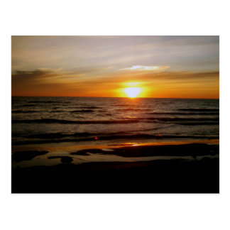 Morning Waves Postcard