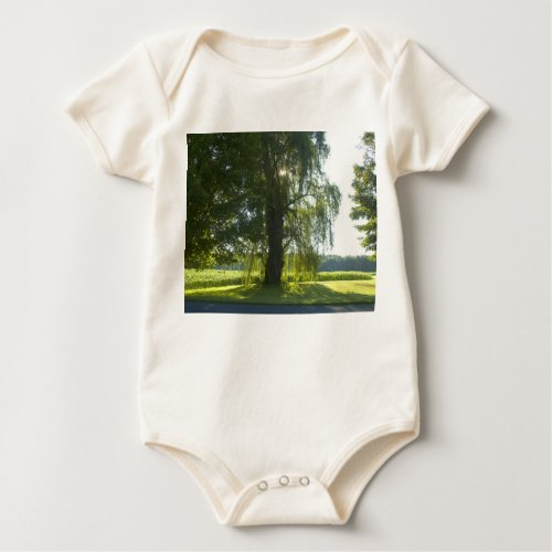 Morning Willow - Start the Day off Bright Baby Bodysuit