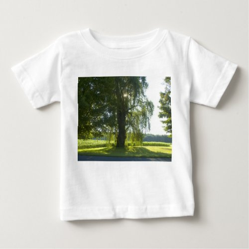 Morning Willow - Start the Day off Bright Baby T-Shirt