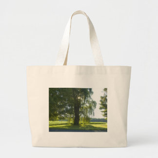 Morning Willow - Start the Day off Bright Canvas Bag