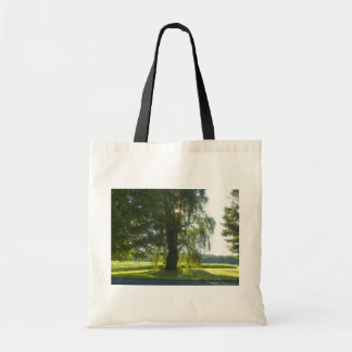 Morning Willow - Start the Day off Bright Tote Bags