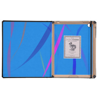 Morning Wind Cerulean Blue Case For iPad