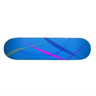 Morning Wind Cerulean Blue Skate Boards