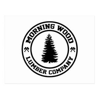 Morning Wood Lumber Co. Postcard