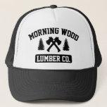 """Morning Wood Lumber Co. Trucker Hat<br><div class=""""desc"""">Morning Wood Lumber Co.</div>"""