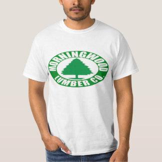 Morning Wood Lumber Company T-shirts