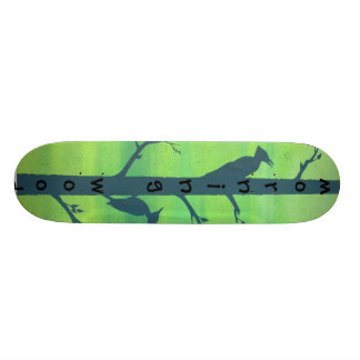 morning wood skateboard