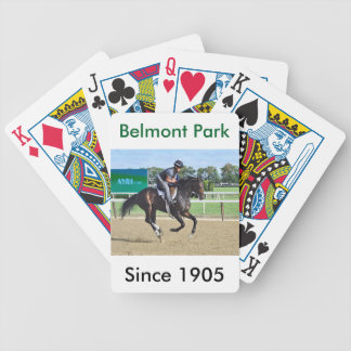 Morning Workouts at Belmont Bicycle Playing Cards