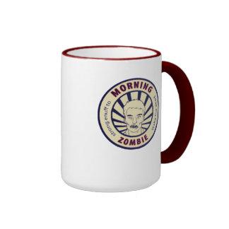 Morning Zombie Coffee Ringer Coffee Mug