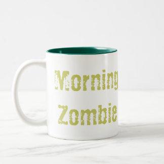 Morning Zombie Two-Tone Mug