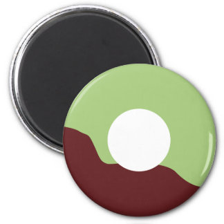 MorningCADonP8 2 Inch Round Magnet