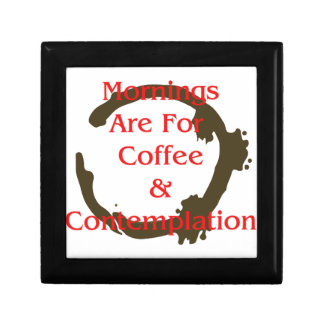 Mornings Are For Coffee And Contemplation Gift Box
