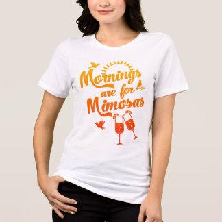 Mornings are for Mimosas | Watercolor Sunrise T-Shirt