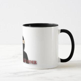 Mornings Are Murder Ninja Mug