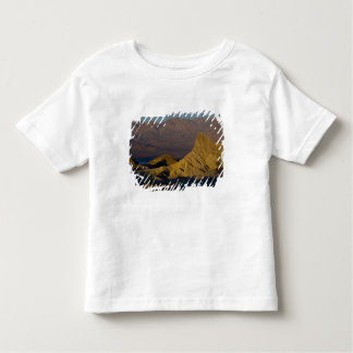 Mornings first light on  Zabriskie Point and 3 Toddler T-shirt