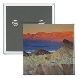 Mornings first light on  Zabriskie Point and Pinback Button