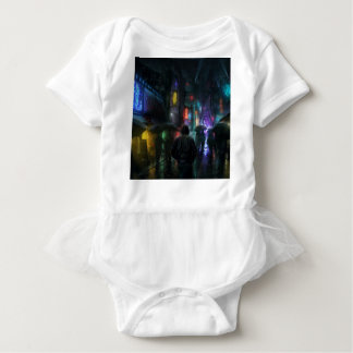 Mornings For People Of The Night Baby Bodysuit