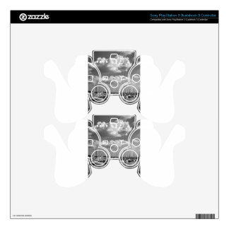 Morningstar Marina and Grasslands Black and White PS3 Controller Skins