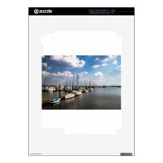 Morningstar Marina Sailboats Georgia USA Skin For The iPad 2