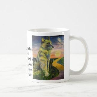 morningwatcher, Brave as soldiersI standBracing... Classic White Coffee Mug