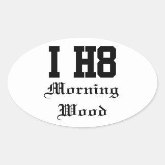 morningwood colcomanias oval