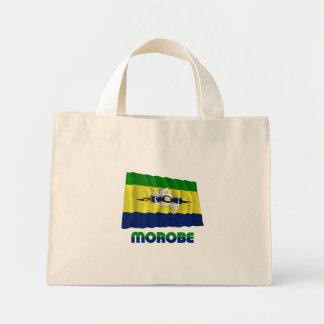 Morobe Province Waving Flag Tote Bags
