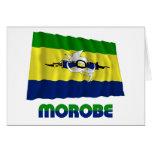 Morobe Province Waving Flag Card