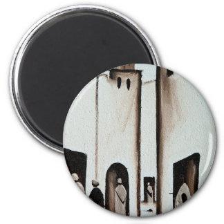 Moroccan Alleyway Magnet