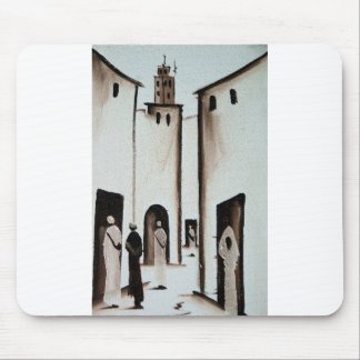 Moroccan Alleyway Mouse Pad