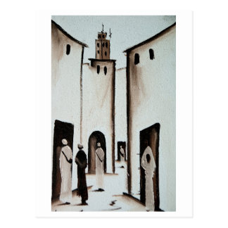 Moroccan Alleyway Postcard