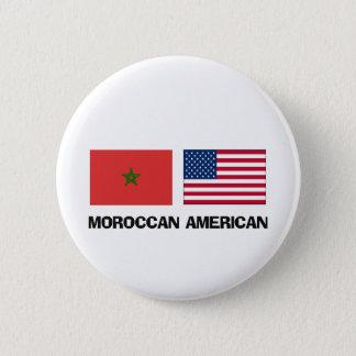 Moroccan American Pinback Button