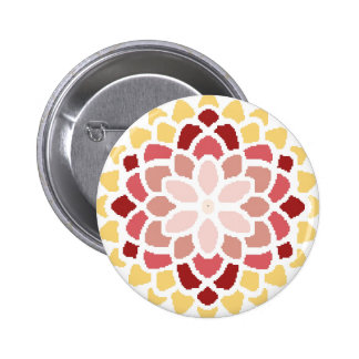 Moroccan Bloom Button