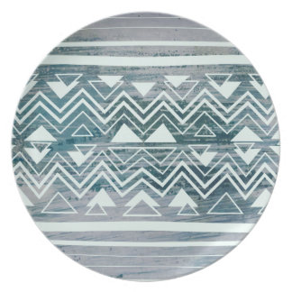 Moroccan Blues Dinner Plate