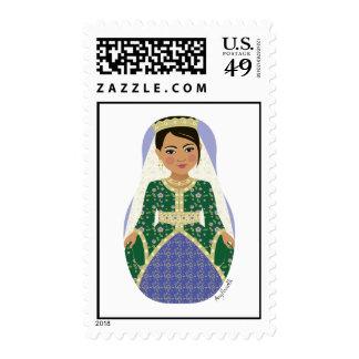 Moroccan Bride Matryoshka Stamps