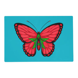 Moroccan Butterfly Flag Placemat