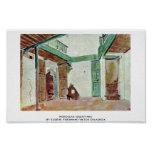 Moroccan Courtyard Posters