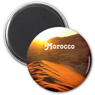 Moroccan Desert 2 Inch Round Magnet