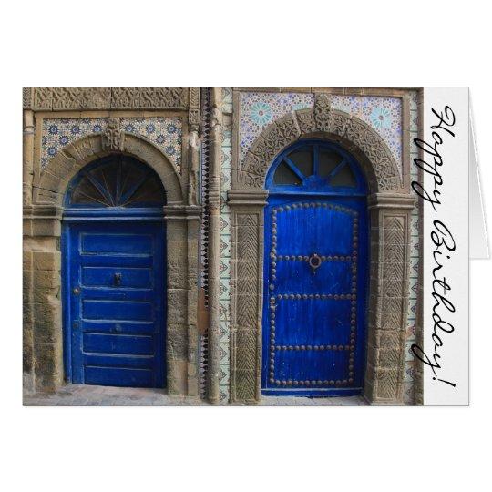 Moroccan Doors Happy Birthday Card  sc 1 st  Zazzle & Moroccan Doors Happy Birthday Card | Zazzle.com