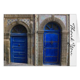 Moroccan Doors Thank You Card