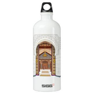 Moroccan Doorsc Aluminum Water Bottle