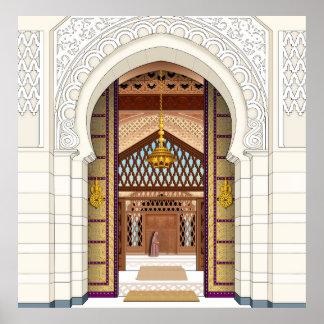 Moroccan Doorsc Print