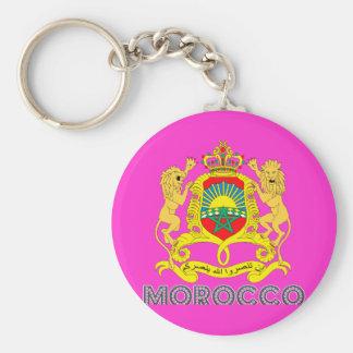 Moroccan Emblem Key Chain