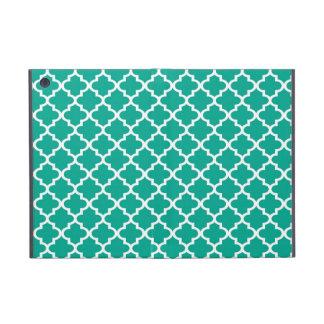 Moroccan emerald green tile design pattern chic iPad mini case